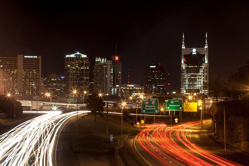 Downtown Nashville - Prints can be purchased at www.tabithahawk.com