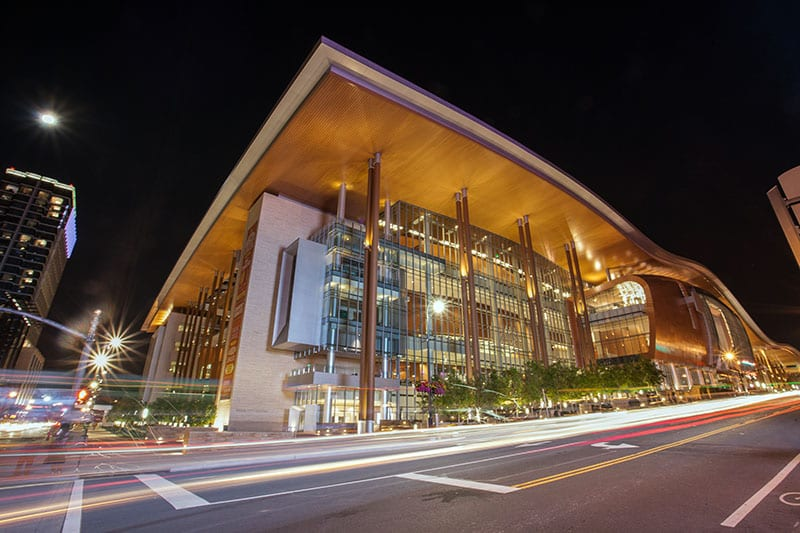 Music City Center at Night - Prints can be purchased at www.tabithahawk.com