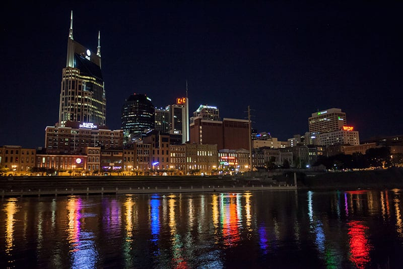 Downtown Nashville Print can be purchased at www.tabithahawk.com