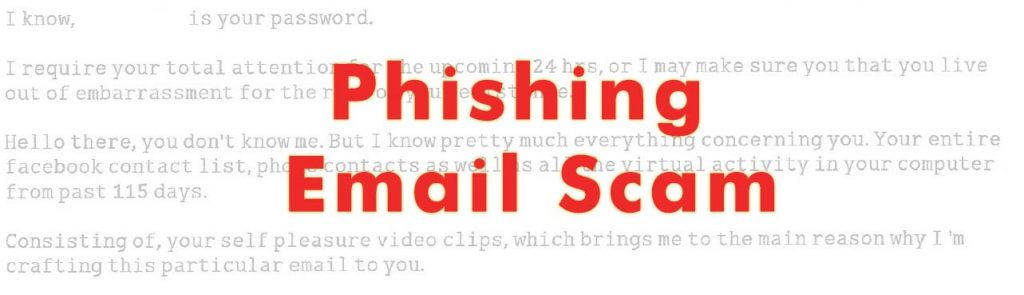 Email phishing scam removal guide